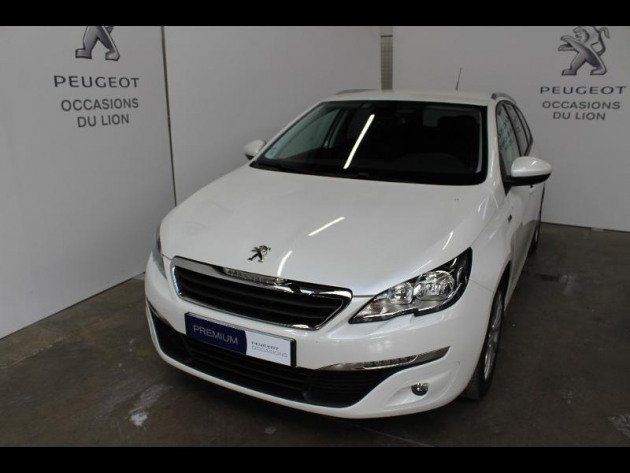 voiture occasion peugeot 308 sw 16 bluehdi 100ch style ss. Black Bedroom Furniture Sets. Home Design Ideas