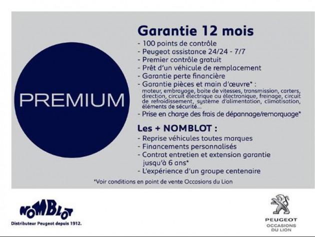 PEUGEOT NV PARTNER PREMIUM STD 650 KG BLUEHDI 100 SS BVM5
